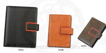 PU Leather Refillable Diary (1034)