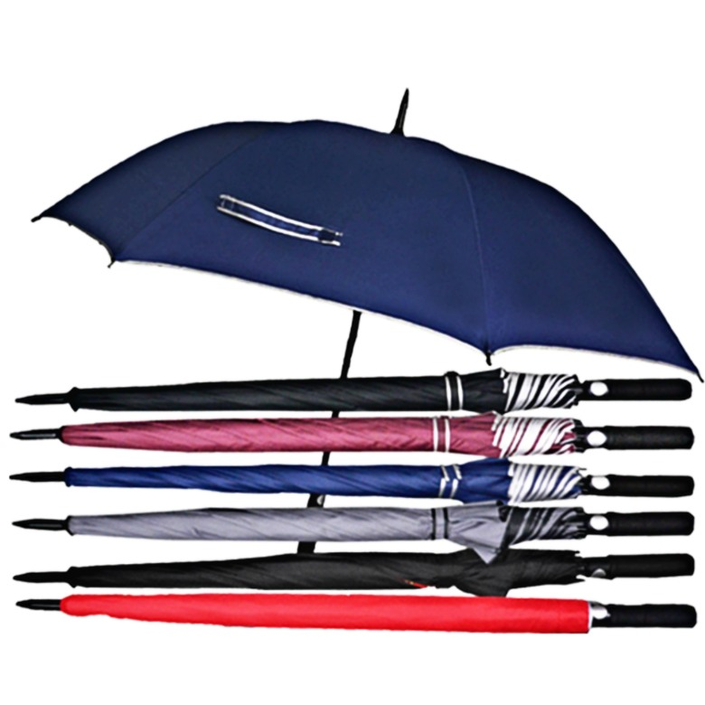Auto Open Golf Umbrella with Straight handle (30 Inch)