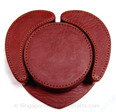 Exclusive Leather Coaster 2 (4pcs)