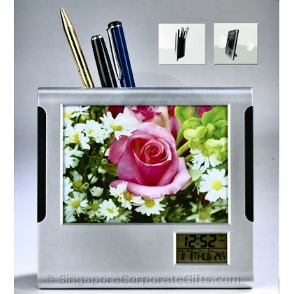 Photoframe with Calendar and Pen Holder