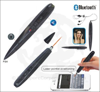 Bluetooth Stylus with Headset and speaker