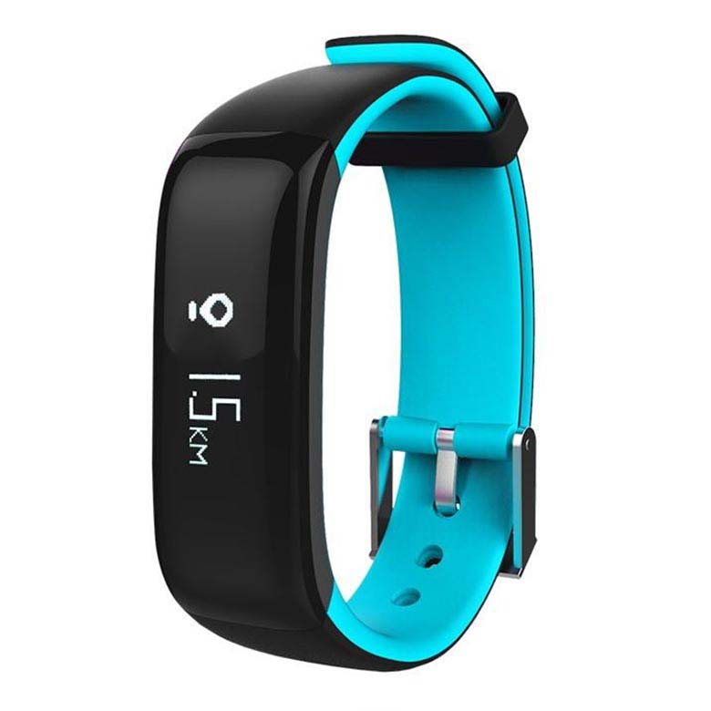 Sports P1 Smart Bluetooth Bracelet Wristband Heart Rate Blood Mo