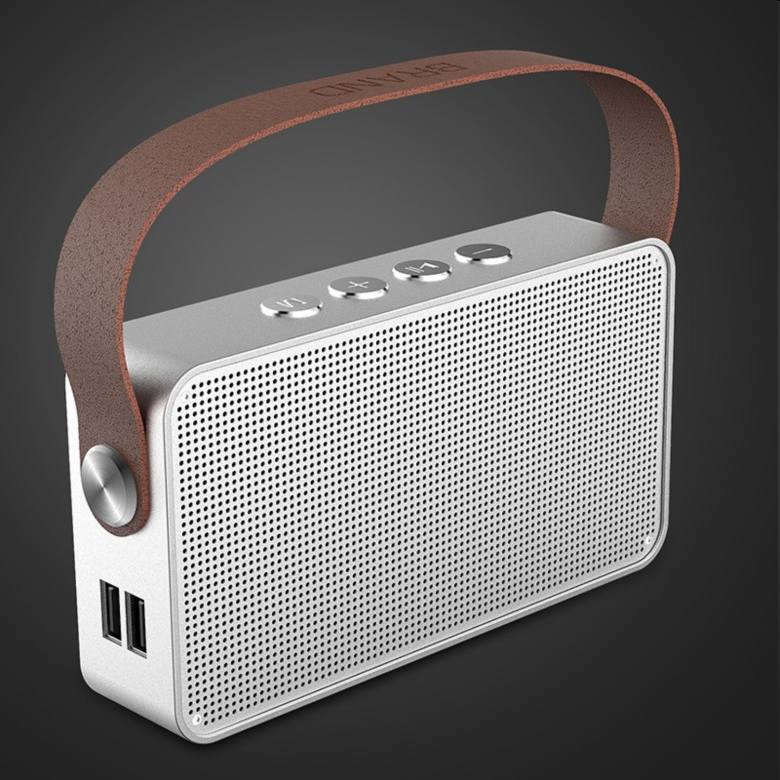 Bluetooth Speaker with Leather strap [M27]