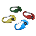 Carabiner with Compass and Bottle Opener