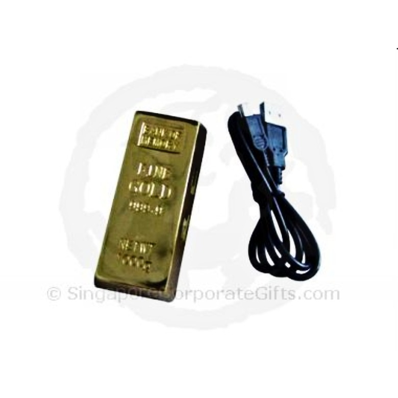 Gold Bar USB Hub