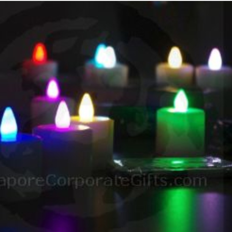 Rechargable 12 LED Candle (Single Colour) with remote control MP