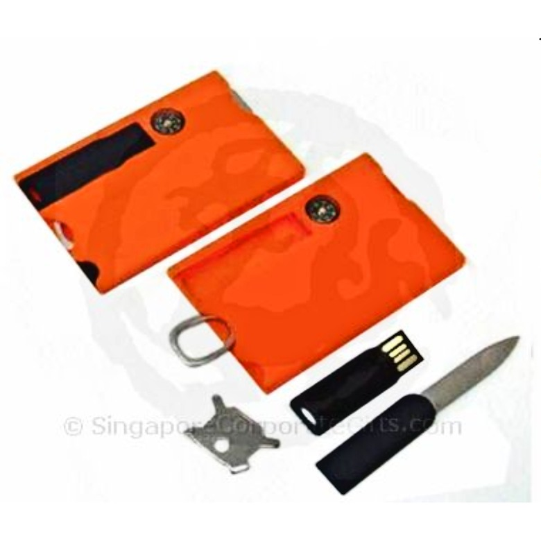 Credit Card Multi-tool with Thumbdrive (4G)