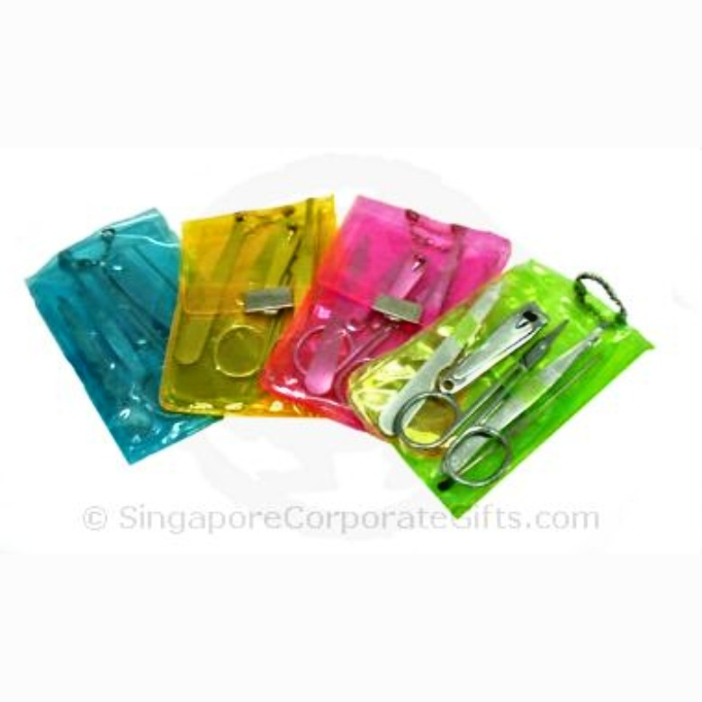Manicure Sets with colourful casing