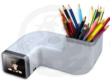 Pen Holder with Digital Photo Frame (1.5 inch)