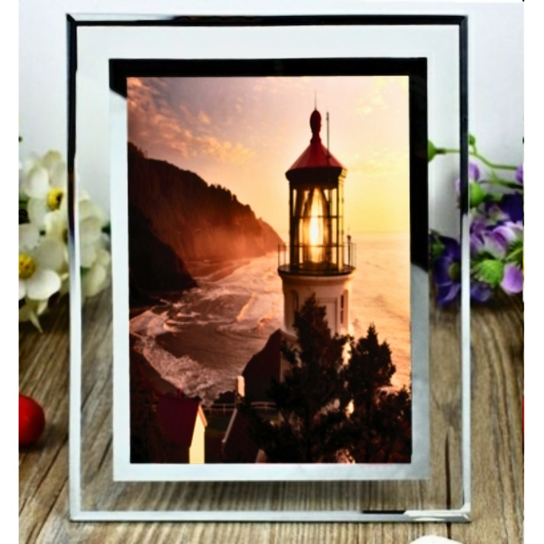 4R Glass Photo frame (Portrait)
