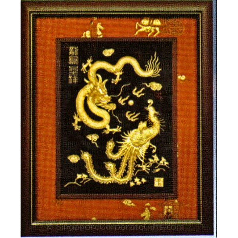 Dragon and Phoenix bring prosperity