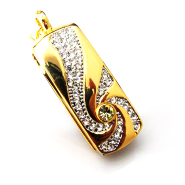 Jewellery Thumbdrive - Gold Pendant (4 G)