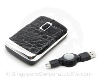 Designer Leather Mouse