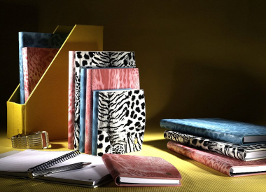 Alef Design Leather Note Book - Delice Leopard