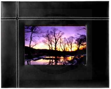 Leather Photoframe 4R 2