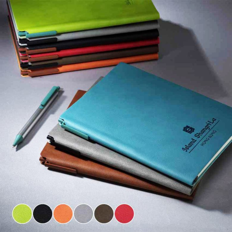 Leather Note Book with Pen