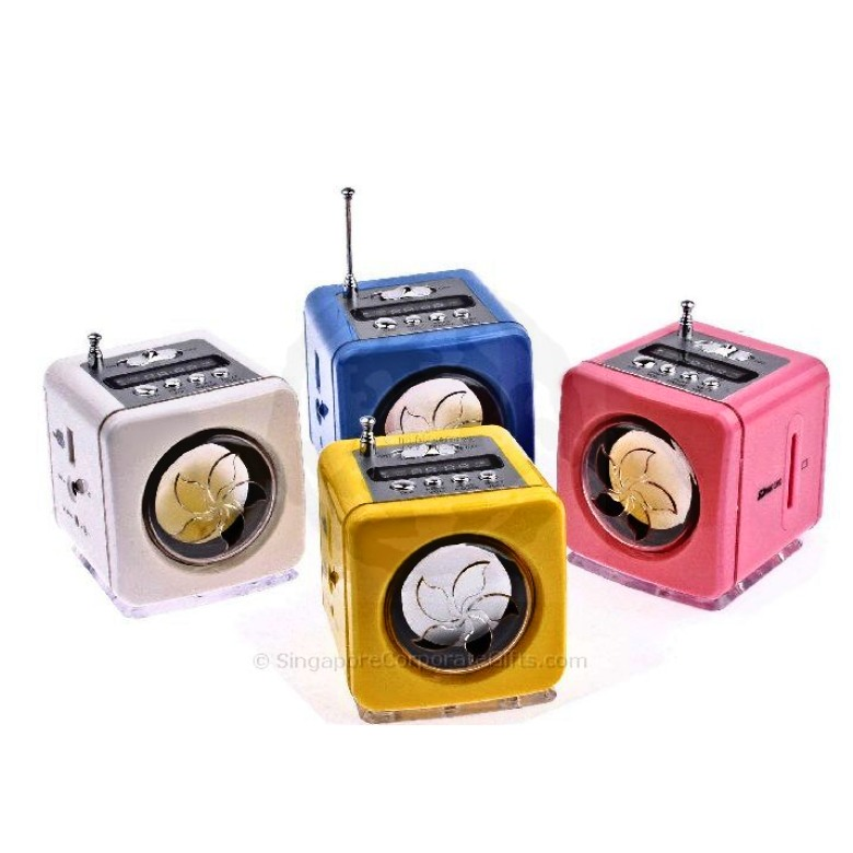 Mini MP3 Speaker with Radio