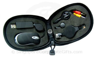 Optical Mouse set with pouch