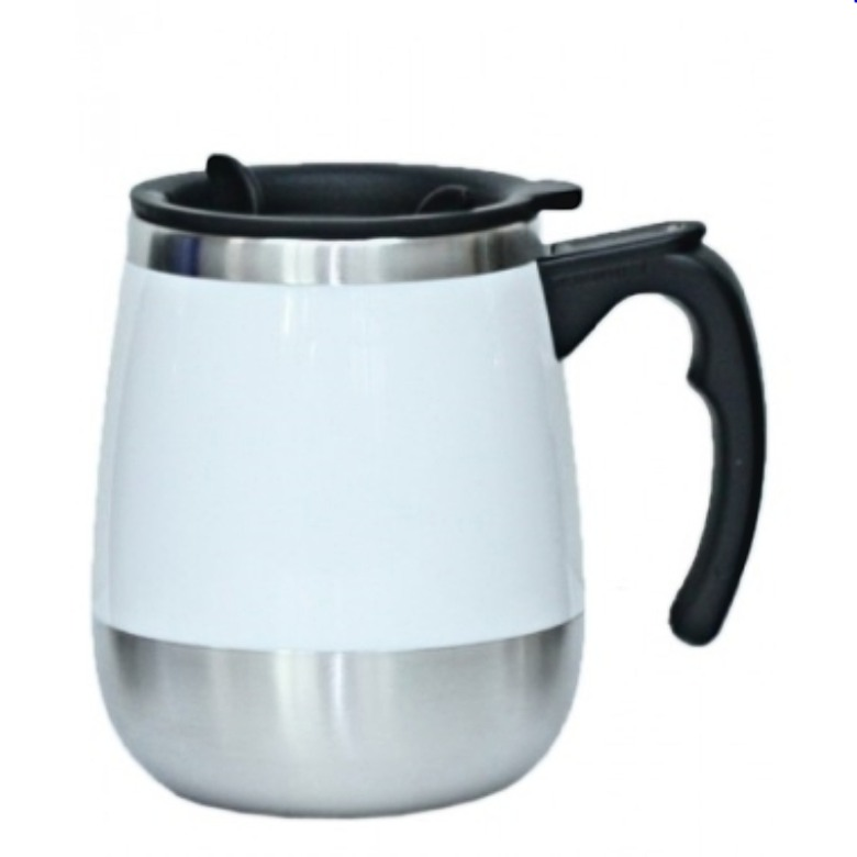Double wall stainless steel with electro-etching interior (16oz)