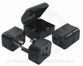 Universal Travel Adapter with plastic casing