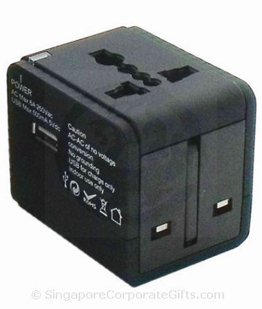 Universal Travel Adapter with USB (Nylon case)
