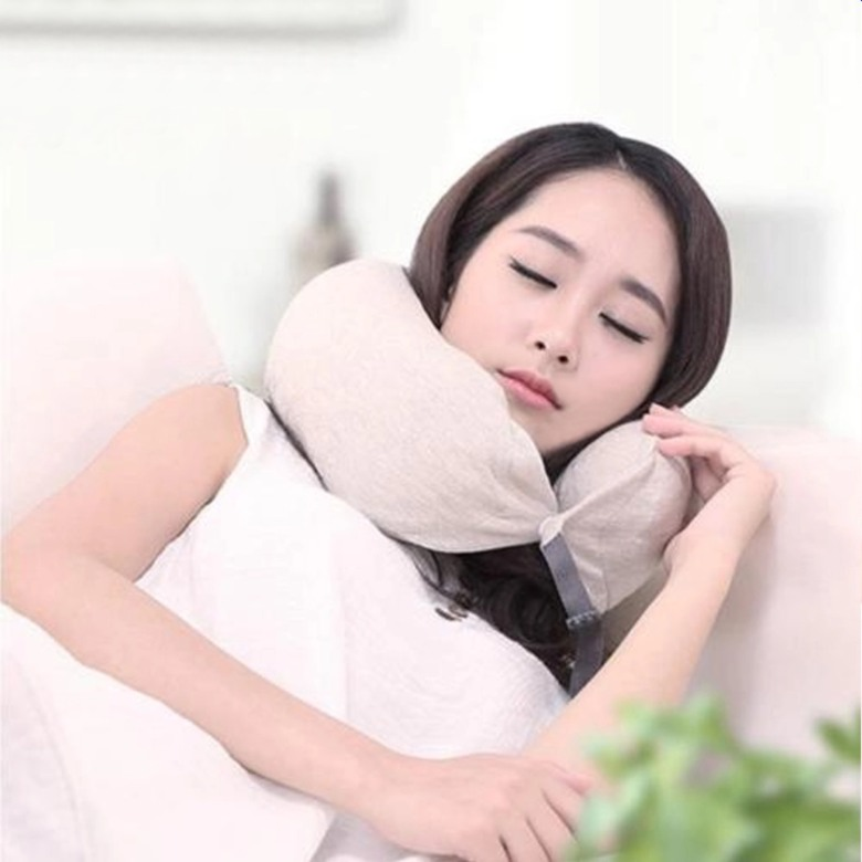 Neck Pillow with Strap