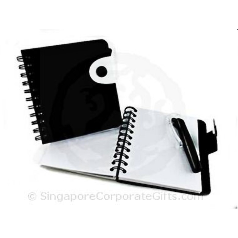 Designer Note Pad with Ball Pen