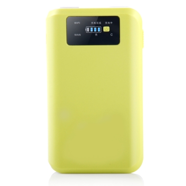 Power Bank with Wifi Router RV6 (6600 mAh)