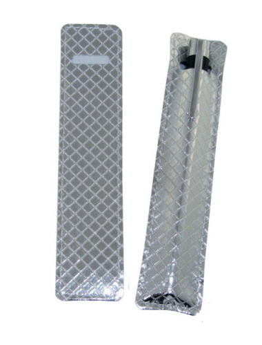 Chrome PU Pouch for Pen (Pen excluded)