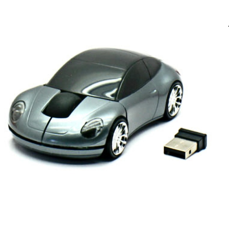 F1 Sports Car Wireless Mouse 4