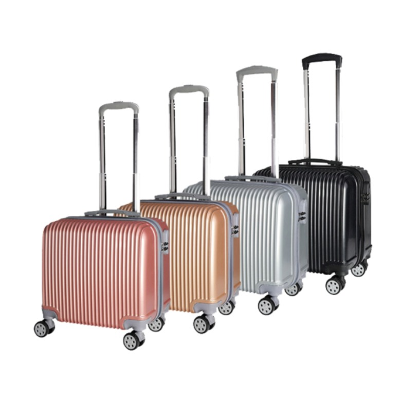 Square Lightweight 8 wheel Luggage