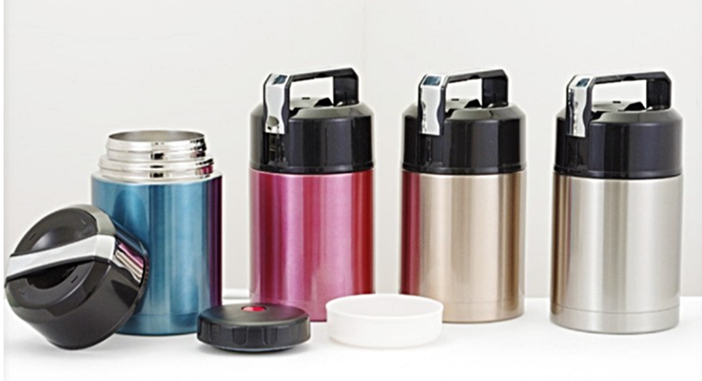 Double Wall 304 stainless steel lunch box food flask [500ml]