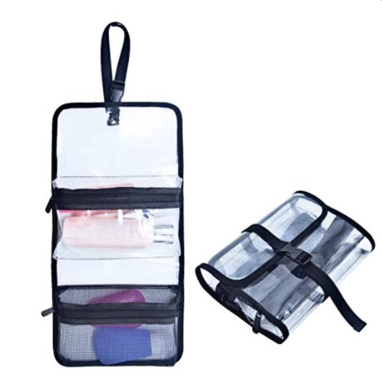 TSA Approved Clear PVC Toiletry Bag