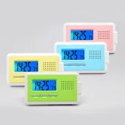 Portable Talking Clock  with LED Light
