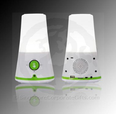 MP3 Touch Speaker with LED and Radio