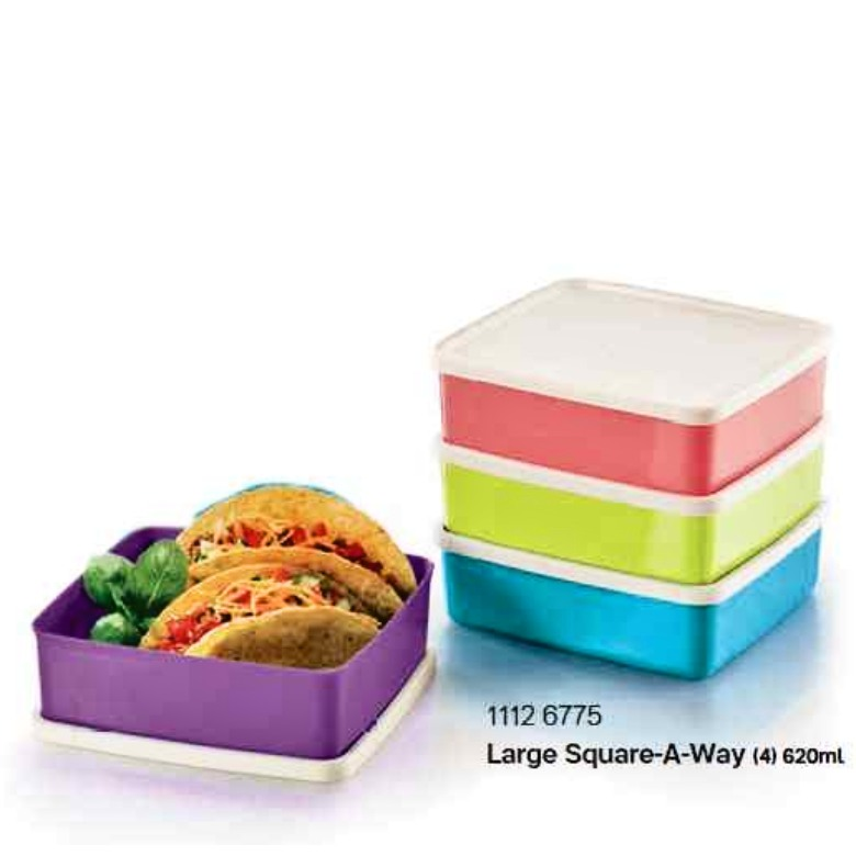 Food Container (Large Sqare-A-Way) 620ml