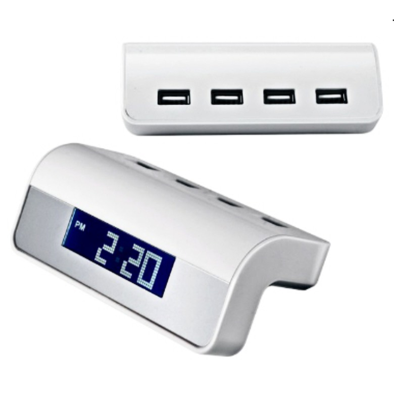 USB Hub with Calendar and Clock 2