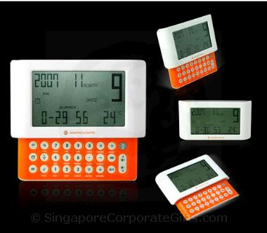 Calculator with Calendar, World time