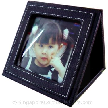 Leather Photoframe Calendar