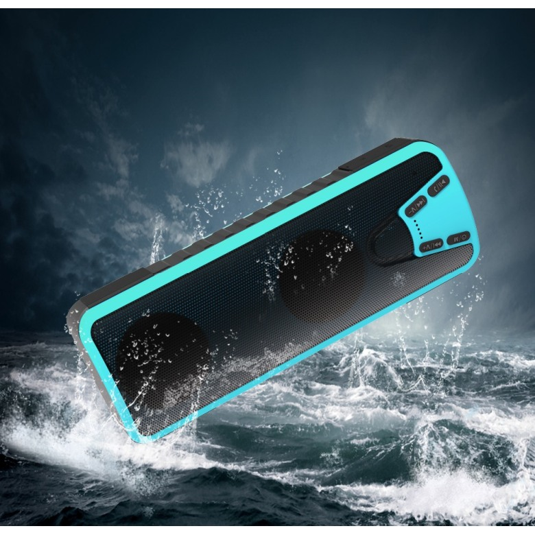 Waterproof Powerbank with LED and Bluetooth Speaker [40000mAh]