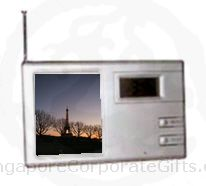 Photoframe w/Alarm Clock and Radio