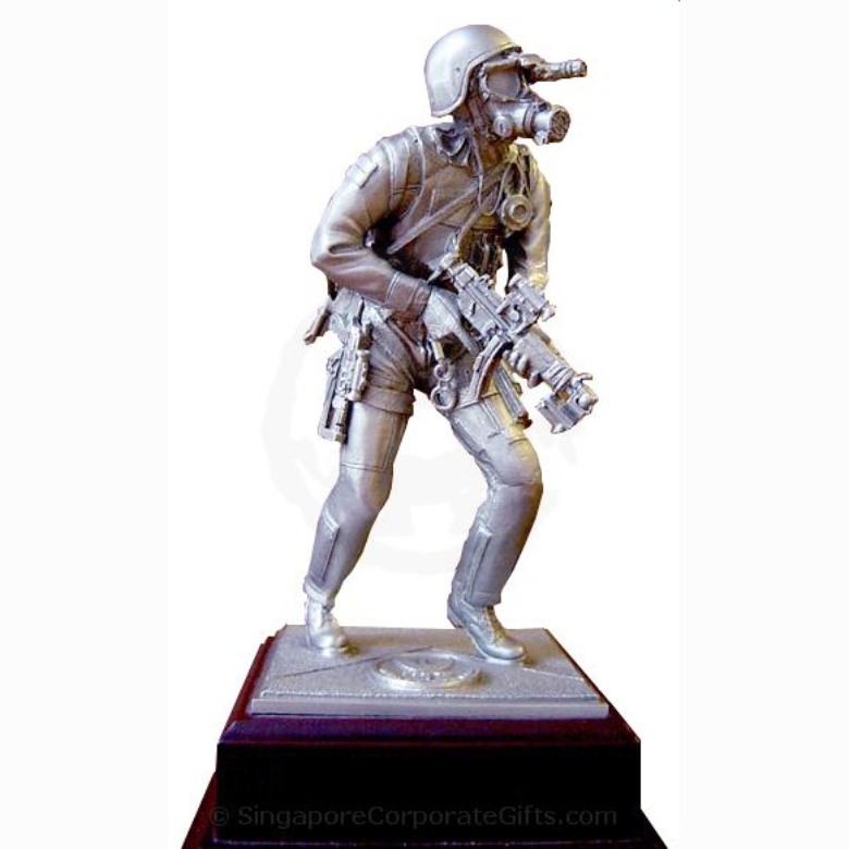 Customised Pewter Figurine (Soldier)
