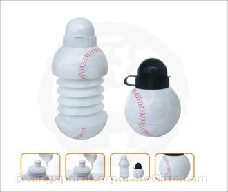 Base Ball collapsible bottle