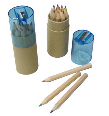 Eco-Friendly Colour Pencil with Sharpener