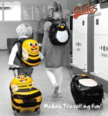 Bee Hard Trolley Case