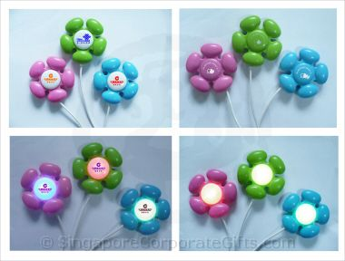 Flower USB Hub with light