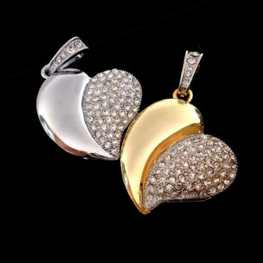 Jewellery Thumbdrive - Heart 4 (4 G)