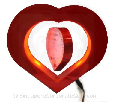 Floating Heart Shape Photo Frame