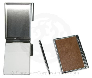 Exclusive namecard holder with pen - B2