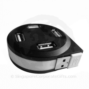 Retractable USB Hub (4 Port)